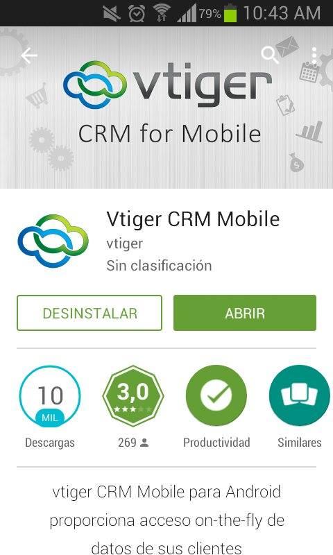 2  Cómo instalar Vtiger en Android
