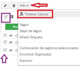 timbrado3  Timbrar cobros (pagos) en VTiger CRM 7